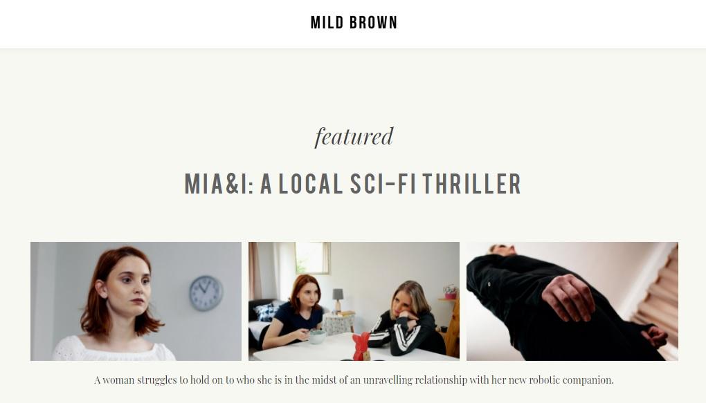 MILD BROWN - MIA&I A LOCAL SCI-FI THRILLER